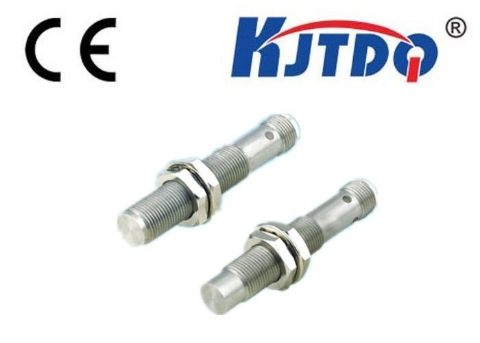 4mm Distance M12 Metal Proximity Sensor , Flush Type Sensor Stainless Steel Type